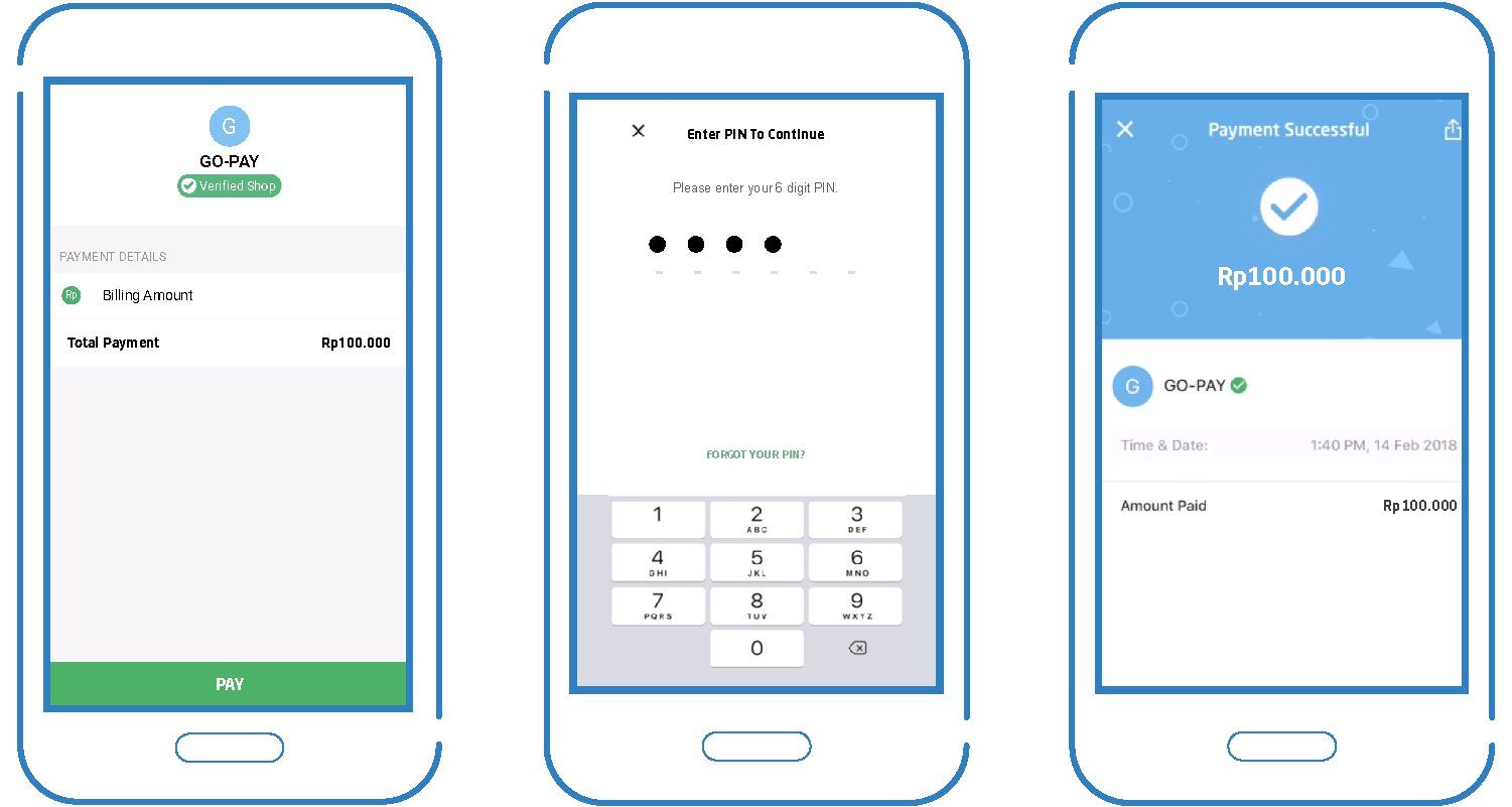 GO-PAY UI